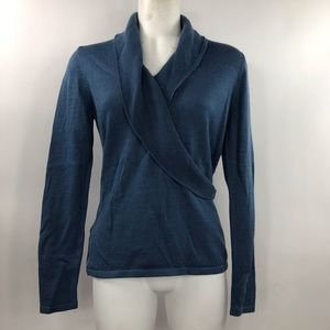 Women's Ann Taylor Size M Pullover V-Neck Sweater